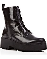 Jeffrey Campbell Lace Up Platform Combat Boots - Finnick - Lyst