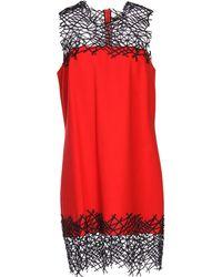 Christopher Kane Short Dress red - Lyst
