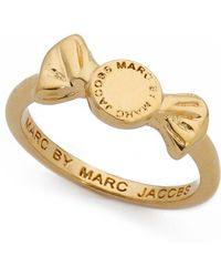 Marc By Marc Jacobs - Candy Ring - Oro - Lyst