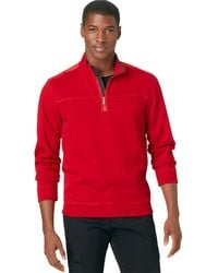 Calvin Klein Solid French Rib Pullover - Lyst