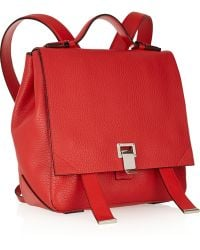 Proenza Schouler Courier Small Textured-leather Backpack - Lyst