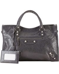 Balenciaga Classic Arena City Bag gray - Lyst