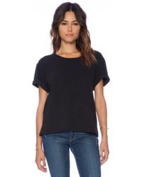 James Perse Oversize Heavy Tee - Lyst