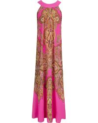 Ted Baker Maldine Jewel Paisley Maxi Dress - Lyst