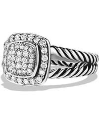 David Yurman - 'albion' Ring With Diamonds - Lyst