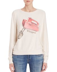 Wildfox | Whipped Sweatshirt | Lyst