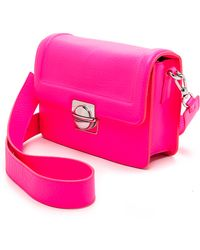 Marc By Marc Jacobs Top Schooly Messenger Bag  Neon Pink - Lyst
