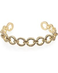 House of Harlow 1960 - Eternal Crystal Link Cuff Bracelet - Lyst