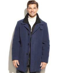 Calvin Klein | Coleman Wool-blend Overcoat | Lyst