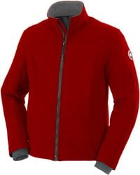 Canada Goose victoria parka sale fake - Canada goose Foxe Bomber in Red for Men | Lyst