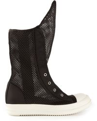 DRKSHDW by Rick Owens - Ramones Meshed Trainer - Lyst