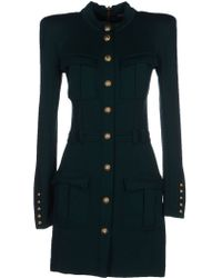 Balmain Short Dress - Lyst