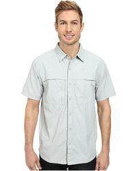The North Face Short Sleeve Cool Horizon Shirt gray - Lyst