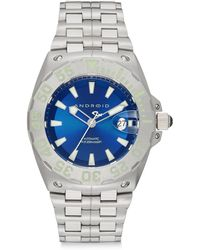 Android - Stainless Steel Corsair Sunray Watch/blue - Lyst
