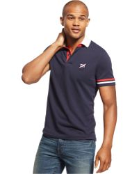 Tommy Hilfiger Channing Polo blue - Lyst