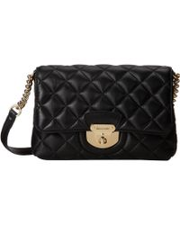 CALVIN KLEIN 205W39NYC - Quilted Lamb Leather Crossbody - Lyst
