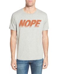 Project Social T - 'nope' Graphic T-shirt - Lyst