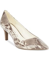 Anne Klein Barb Pumps - Lyst