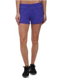 Nike Purple Cover-Ups Short - Lyst