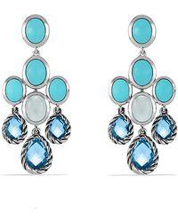 David Yurman Chandelier Earrings - Lyst