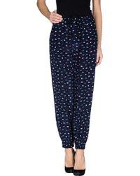 Lulu & Co | Casual Trouser | Lyst