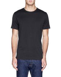 Sunspel Basic Cotton T-Shirt - Lyst