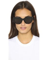 Ksubi - Florina Sunglasses - Black/smoke Mono - Lyst