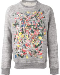Marc Jacobs Crew Neck Sweatshirt gray - Lyst