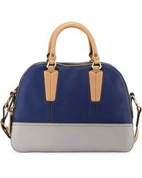 orYANY Leslie Colorblock Satchel Bag blue - Lyst