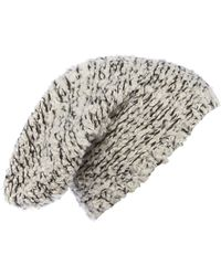 Label Lab - Boucle Textured Beanie - Lyst