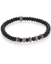 King Baby Studio   Black Onyx & Sterling Silver Bracelet   Lyst