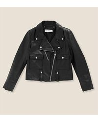 Golden Goose Deluxe Brand Leather Biker Jacket - For Women - Lyst