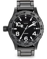 Nixon Ceramic Automatic Link Bracelet Watch - Lyst