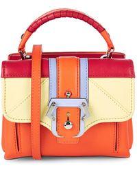 Paula Cademartori - Dun Dun Leather Cross-Body Leather Bag - Lyst