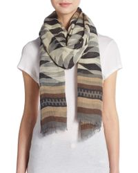 Steve Madden - Exotic Print Convertible Scarf - Lyst