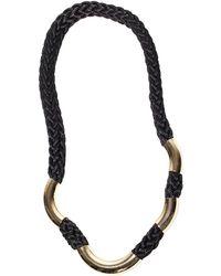 FLorian | Gold Braid Necklace | Lyst