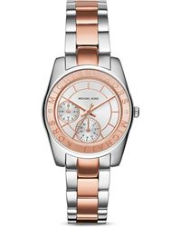 Michael Kors Two-Tone Ryland Watch, 33Mm - Lyst