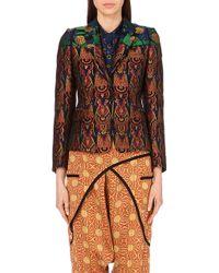 Dries Van Noten Brookley Metallic-Jacquard Jacket - For Women - Lyst