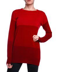 Current/Elliott Charlotte Gainsbourg Color Blocked Sweater - Lyst