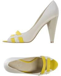 Nine West Court white - Lyst