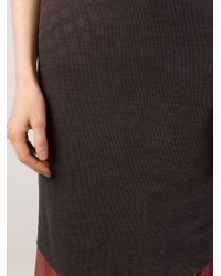 Alessandra Marchi - Long Strappy Vest Dress - Lyst