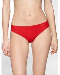 Calvin Klein Underwear Invisibles Thong - Lyst