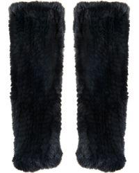 Amanda Wakeley - Ryto Fur Sleeves - Lyst