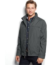 Calvin Klein 3 Seasons Weather-Resistant Coat gray - Lyst