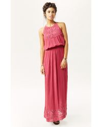 Jen's Pirate Booty Peruvian Maxi Dress pink - Lyst