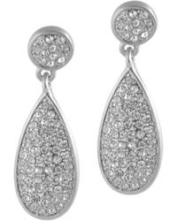 Karen Kane | Moonlight Dew Drop Earrings | Lyst