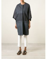 Hache | Panelled Cocoon Coat | Lyst