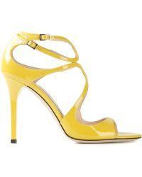 Jimmy Choo 'Lang' Sandals - Lyst
