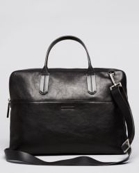 Ben Minkoff - Brody Slim Leather Brief - Lyst