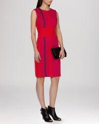 Karen Millen Dress - Stripe multicolor - Lyst